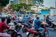 Verkehr Saigon Vietnam - 73006809