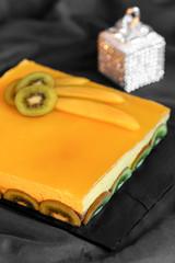 gâteau bavarois mangue chocolat 2