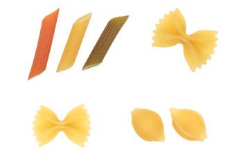 pasta isolated