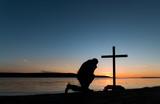 Sunset Man of Prayerfulness