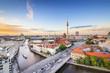Berlin, Germany Spree River Skyline