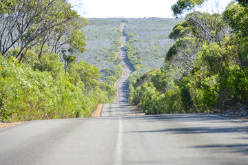 route vallonnée - Australie