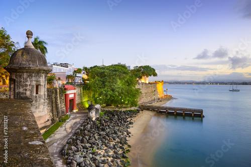 Leinwanddruck Bild San Juan, Puerto Rico