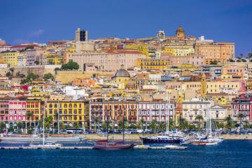 Cagliari, Sardinia, Italy Cityscape