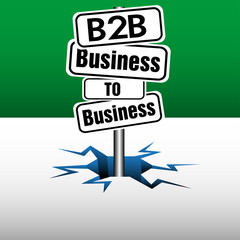 Business to business plate