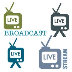 Live stream symbols