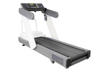 image of treadmill isolated