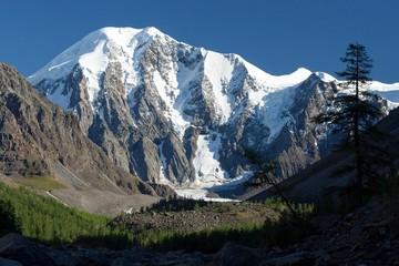 Maashey-Bash Peak in Altai Mountain