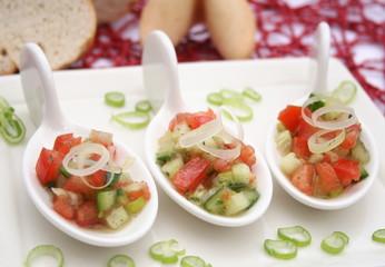 Salathäppchen