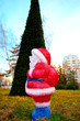 Little figure of Santa Claus