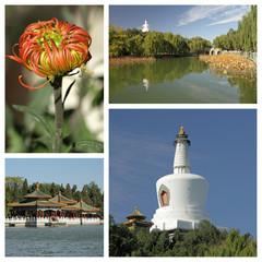 Beihai ( Northern Sea) Garden collage, Beijing