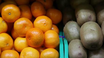 kiwi and tangerine