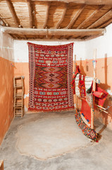 Traditional Berber carpets in Morocco, Africa