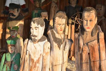 Sztuka ludowa - Rzeźbiarstwo