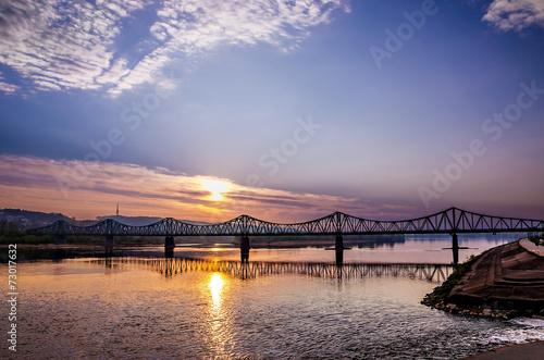 Bridge over Vistula River in Wloclawek