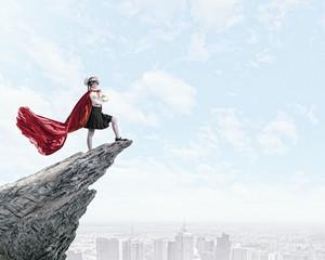 Brave superkid
