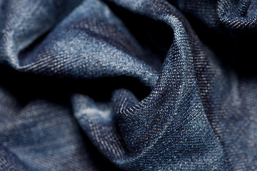 Blue jeans cloth