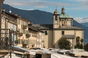 market in Cannobio