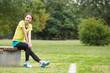スポーツをする女性