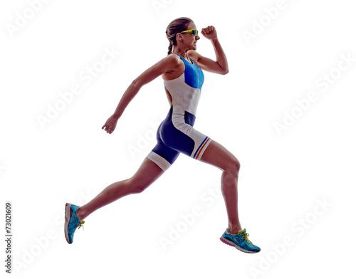 Papiers peints Individuel woman triathlon ironman runner running athlete