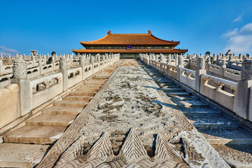 Taihedian Home Of Supreme Harmony Imperial Palace Forbidden City