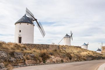 スペイン ラ・マンチャ地方の風車 La Mancha Spain