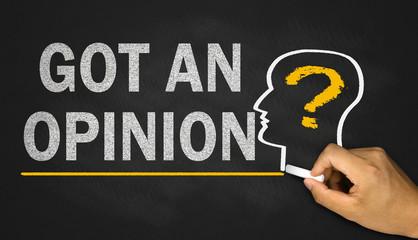 got an opinion?