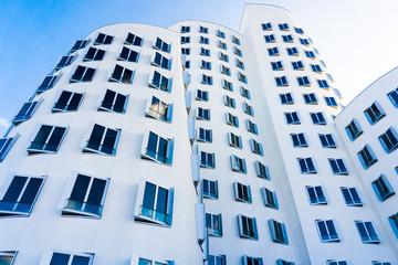 DUSSELDORF, GERMANY - NOVEMBER 8 : Neuer Zollhof building on Nov