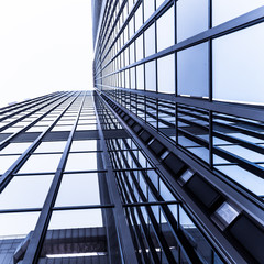 Windows of Skyscraper.   office buildings