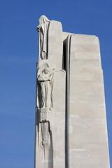Statue, Mémorial de Vimy