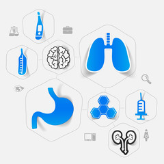 medicine sticker infographic