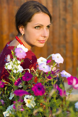 Portrait of a beautiful Ukrainian women