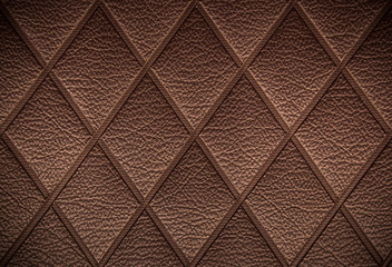 vintage Brown leather pattern background