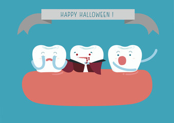 Hallo Halloween of dental
