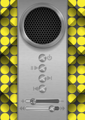 Abstract Speaker Concept Design.
