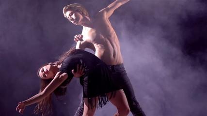 Outstanding Dance Couple