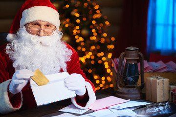 Preparing Christmas surprise