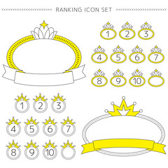 Ranking Icon Set