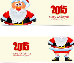 Santa Claus labels