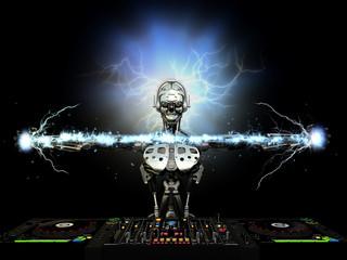 Electro Robot DJ