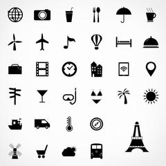 Set of travel icons design, Vector illustration.
