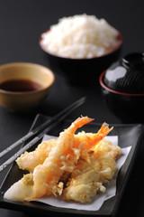 Shrimp Tempura Japanese food from Japan restaurant