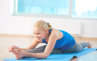 Exercise on mat