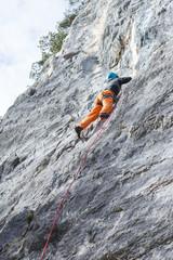 Klettern im Freien