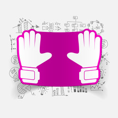 Drawing business formulas: gloves