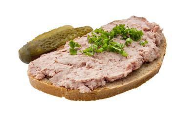 Leberwurstbrot