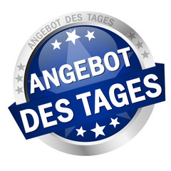 Button with banner Angebot des Tages