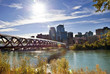 Calgary pedestrian bridge - 73032018