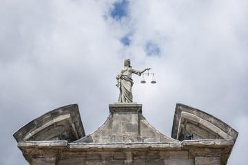 Justice Statue in Dublin