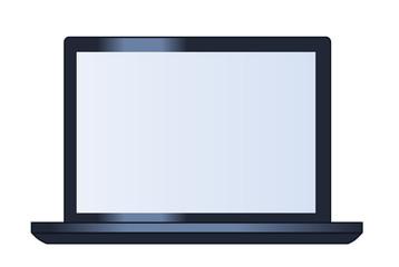 Illustration of the laptop